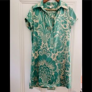Vintage Diane Von Furstenberg Short Sleeve Dress